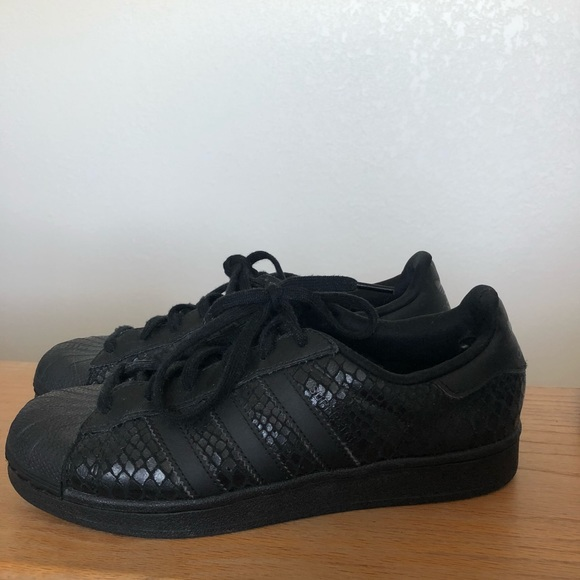 6a08156cfb8 adidas Other - ADIDAS   Limited edition snake skin superstars